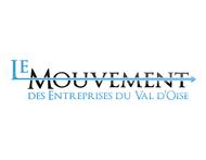 Le Mouvement des Entreprises du Val d'Oise Logo - Entry #9