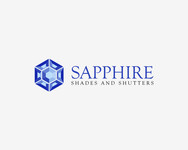 Sapphire Shades and Shutters Logo - Entry #103
