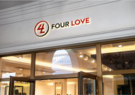 Four love Logo - Entry #95