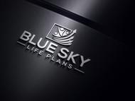 Blue Sky Life Plans Logo - Entry #126