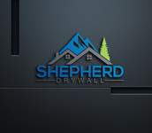 Shepherd Drywall Logo - Entry #328