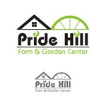 Pride Hill Farm & Garden Center Logo - Entry #138