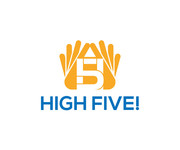 High 5! or High Five! Logo - Entry #43