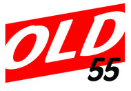 """""""OLD 55"""" - mid-century vintage furniture and wares store Logo - Entry #58"""
