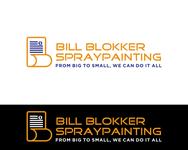 Bill Blokker Spraypainting Logo - Entry #159