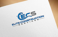 Elite Construction Services or ECS Logo - Entry #17