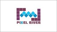 Pixel River Logo - Online Marketing Agency - Entry #53