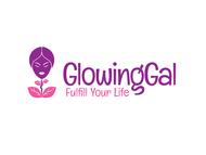 Glowing Gal Logo - Entry #78