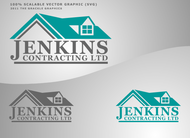 Jenkins Contracting LTD Logo - Entry #39