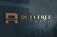 Rams Duty Free + Smoke & Booze Logo - Entry #188