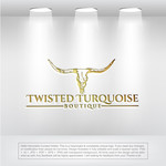 Twisted Turquoise Boutique Logo - Entry #113