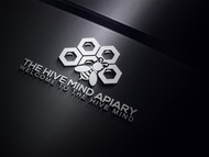 The Hive Mind Apiary Logo - Entry #115
