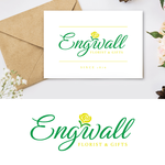 Engwall Florist & Gifts Logo - Entry #9