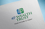 4P Wealth Trust Logo - Entry #345