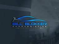 Bill Blokker Spraypainting Logo - Entry #88