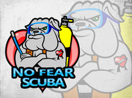 No Fear Scuba Logo - Entry #76