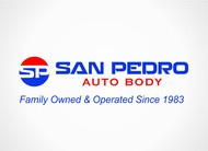 San Pedro Auto Body Logo - Entry #63