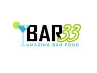 Bar 33 Logo - Entry #36