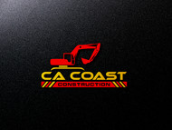 CA Coast Construction Logo - Entry #282