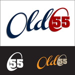"""""""OLD 55"""" - mid-century vintage furniture and wares store Logo - Entry #1"""