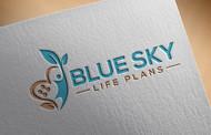 Blue Sky Life Plans Logo - Entry #116