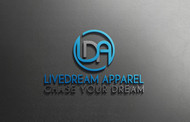 LiveDream Apparel Logo - Entry #201