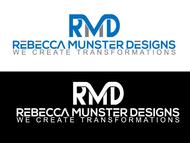 Rebecca Munster Designs (RMD) Logo - Entry #237