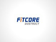 FitCore District Logo - Entry #159