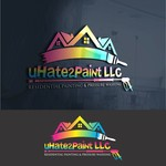 uHate2Paint LLC Logo - Entry #183