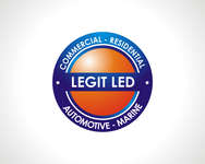Legit LED or Legit Lighting Logo - Entry #108
