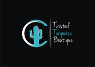 Twisted Turquoise Boutique Logo - Entry #149