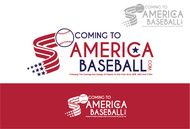 ComingToAmericaBaseball.com Logo - Entry #2