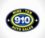 910 Auto Sales Logo - Entry #122