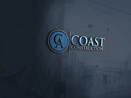 CA Coast Construction Logo - Entry #279