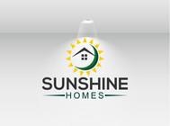 Sunshine Homes Logo - Entry #188