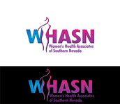 WHASN Women's Health Associates of Southern Nevada Logo - Entry #38