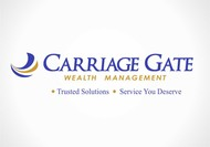 Carriage Gate Wealth Management Logo - Entry #98