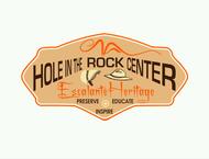 Escalante Heritage/ Hole in the Rock Center Logo - Entry #109