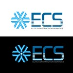 Elite Construction Services or ECS Logo - Entry #1