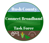 Rush County Connect Broadband Task Force Logo - Entry #99
