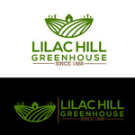 Lilac Hill Greenhouse Logo - Entry #89