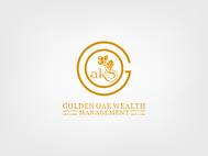 Golden Oak Wealth Management Logo - Entry #63