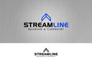STREAMLINE building & carpentry Logo - Entry #153