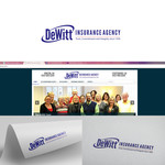 """DeWitt Insurance Agency"" or just ""DeWitt"" Logo - Entry #254"