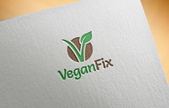 Vegan Fix Logo - Entry #6