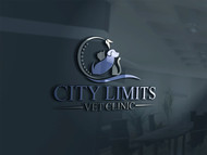 City Limits Vet Clinic Logo - Entry #24