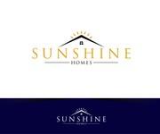 Sunshine Homes Logo - Entry #208