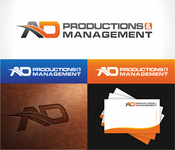 Corporate Logo Design 'AD Productions & Management' - Entry #147