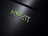 Live Fit Stay Safe Logo - Entry #113