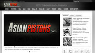 Asian Pistons (maybe with .com) Logo - Entry #14